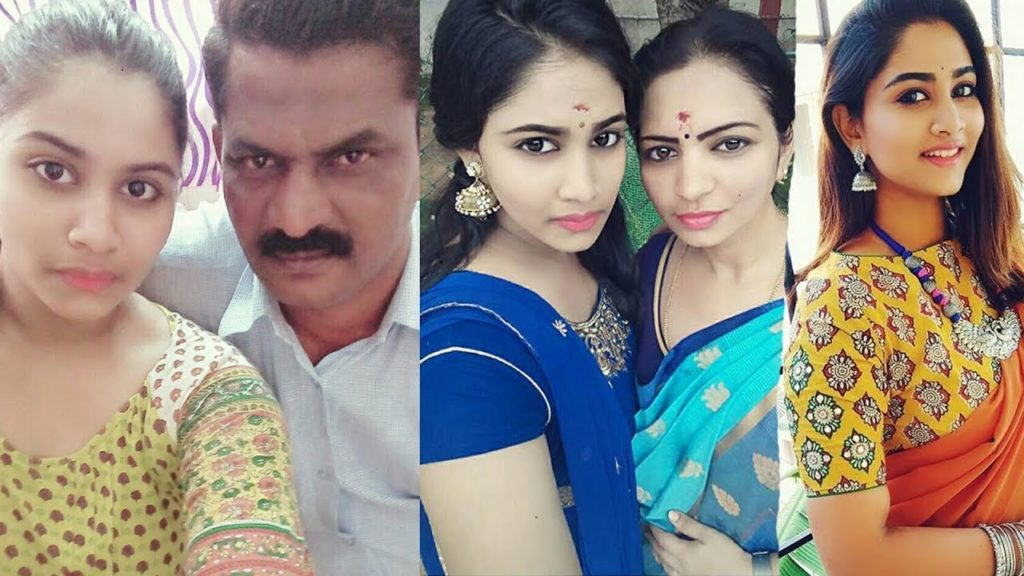 Serial Actress Shivanis Father Photo