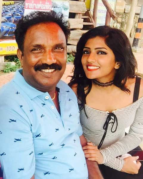 Eesha Rebba's Father
