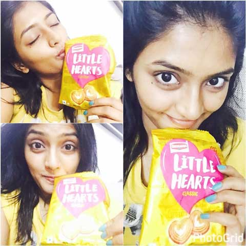 Eesha Rebba With Little Hearts