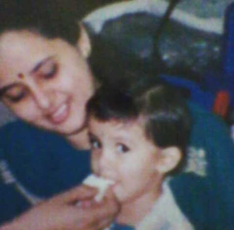 Malavika Sharma with Her Mother