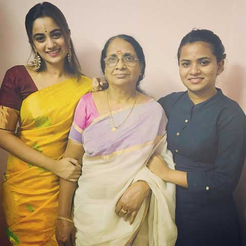 Namitha Pramod Grand Mother