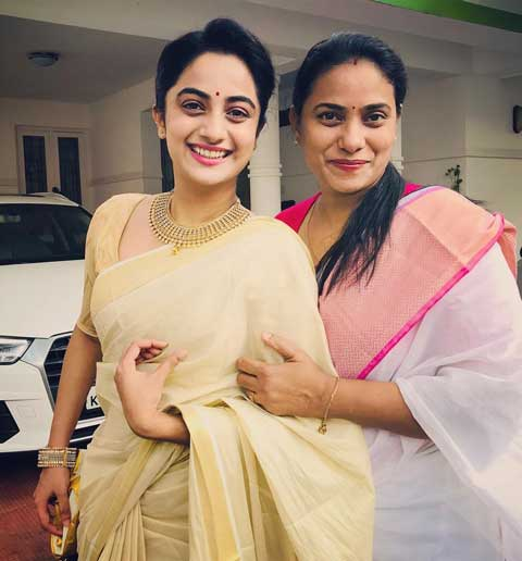 Namitha Pramod's Mother