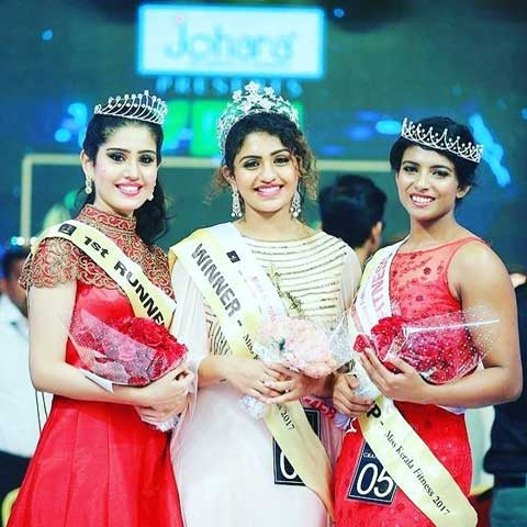 Noorin Shereef With Other Runner Ups