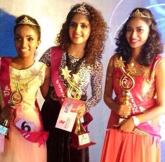 """Noorin Shereef Rare Pic When Crowned """"Miss Quilon"""""""
