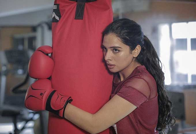 Tanya Hope While Boxing