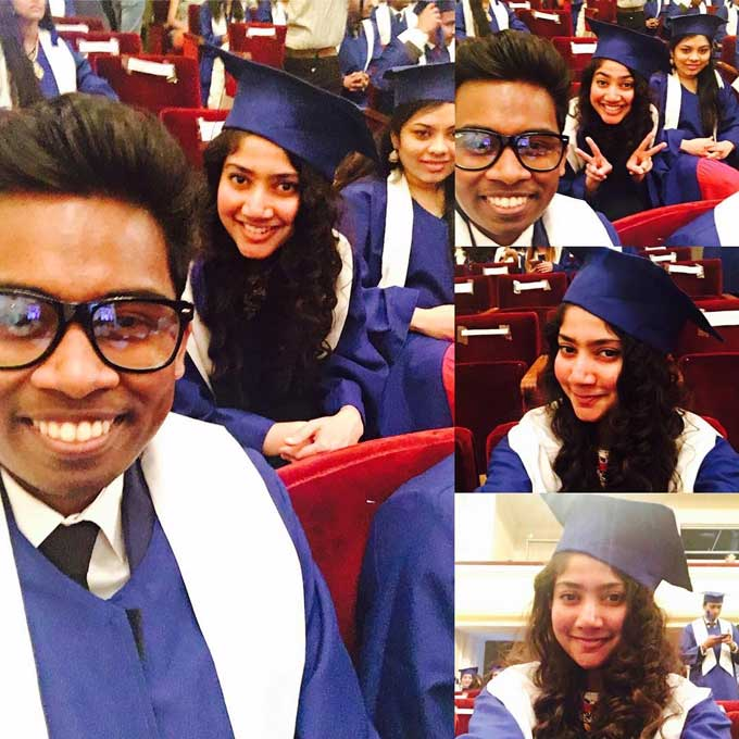 Sai Pallavi Graduation Day Photo