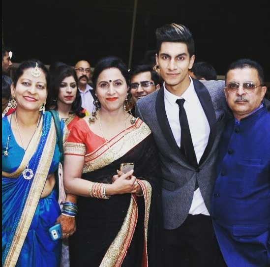 Ashish Bhatia Family Photo with Father Mother