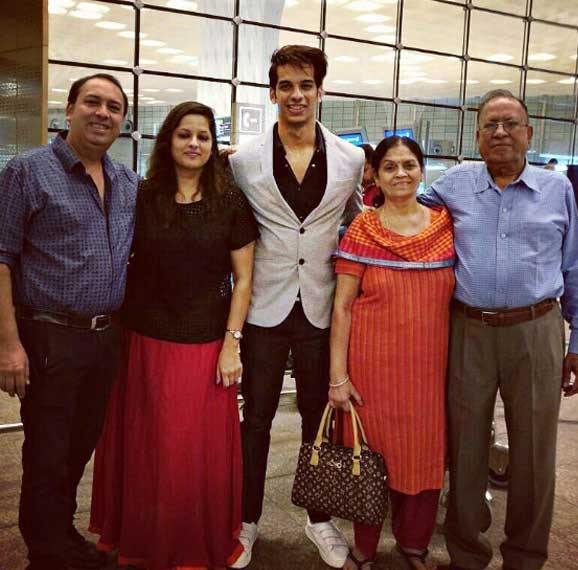 Shrey Mittal With His Family