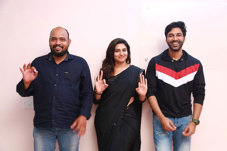 Dhruva with Super Duper Heroine Indujha and Director