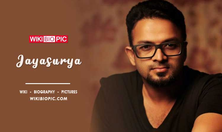 Jayasurya wiki biography