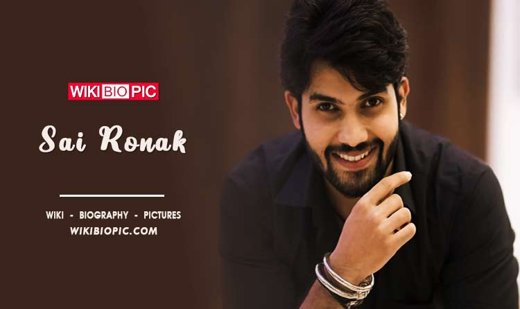 Sai Ronak wiki biography
