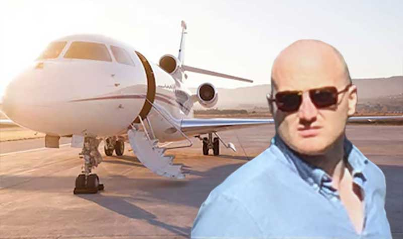 billionaire james richman private jet